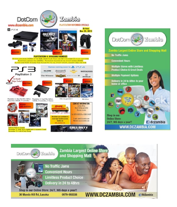 Dot Com Zambia Marketing Portfolio 2
